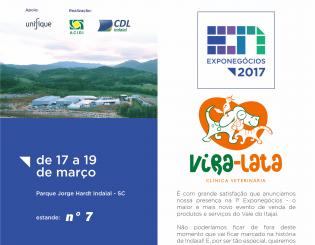 Vira-Lata na Exponegócios 2017 – Indaial/SC
