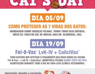 Saiba tudo sobre o CAT'S DAY – Encontro e Vacinação