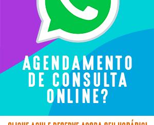 Agendamento de Consulta Online – Clique aqui